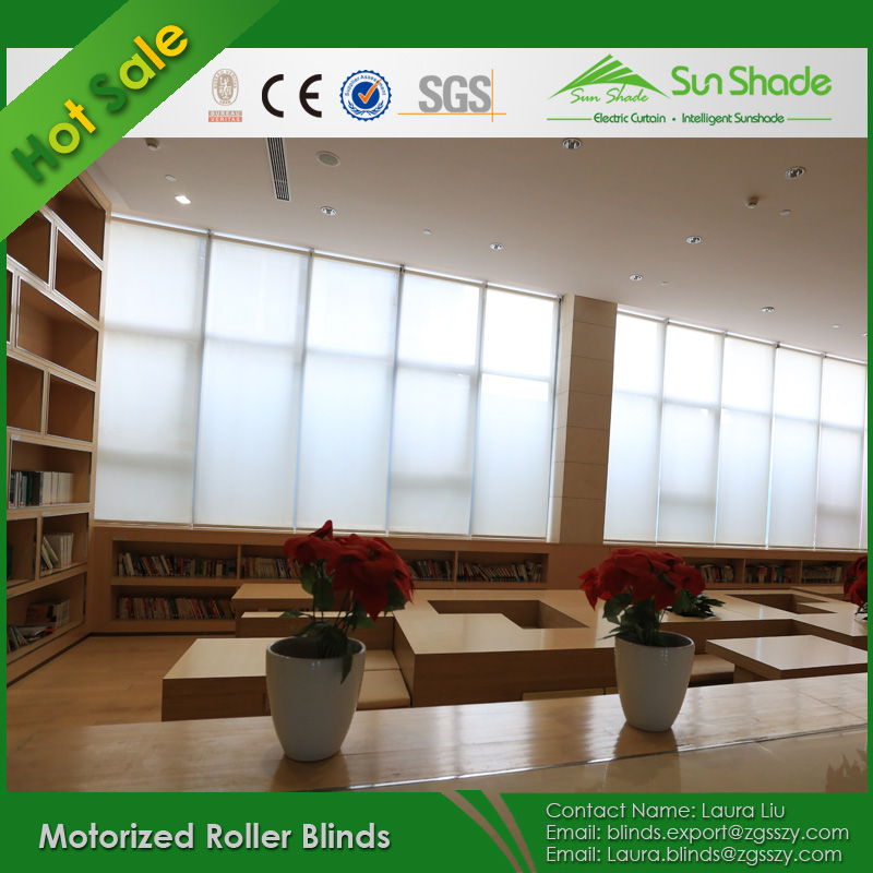Australian Standard Office motorised roller curtain