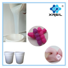 Medical grade silicone rubber skin liquid for life casting