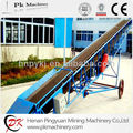 China PK Brand adjustable angle loading chevron mobile belt conveyor