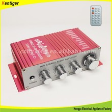Kentiger FM Professional Audio Stereo Amplifier Amp for Mp3 Ipod Car Moto Auto