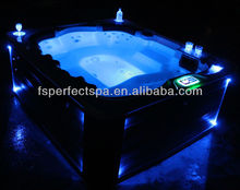 luxury spa bath for massage spa bath with led light