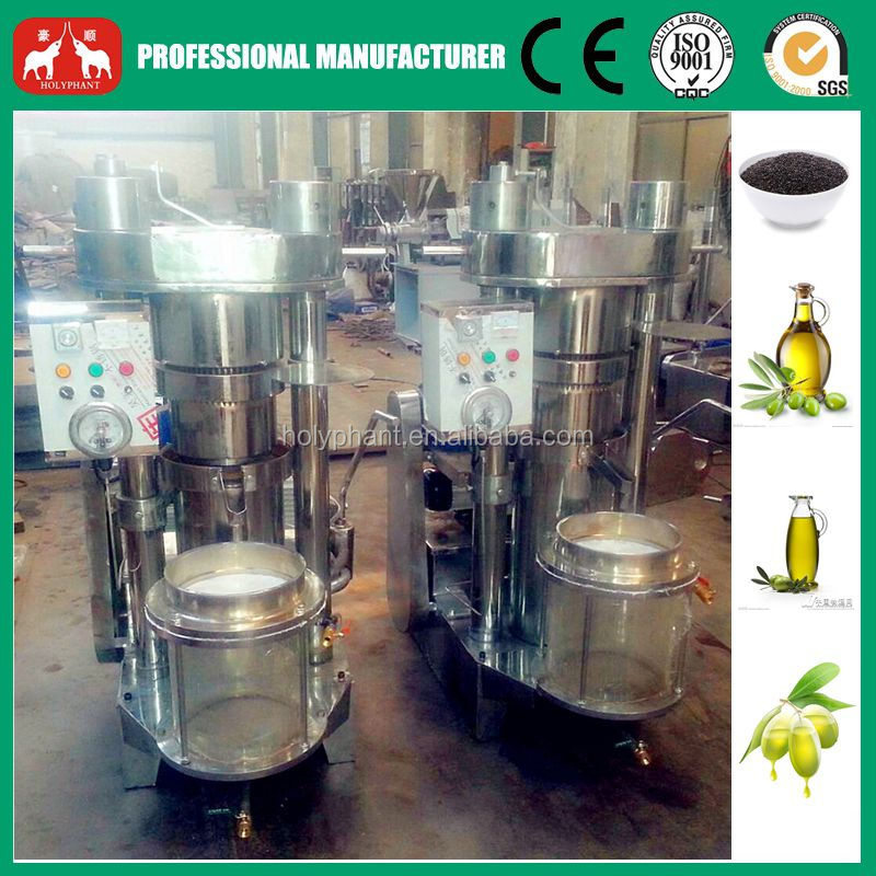 Sesame,Olive Oil Hydraulic Press Machine 20-120kg/h