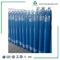10L 133mm Seamless Steel Oxygen Medical Gas Cylinder for Ambulance