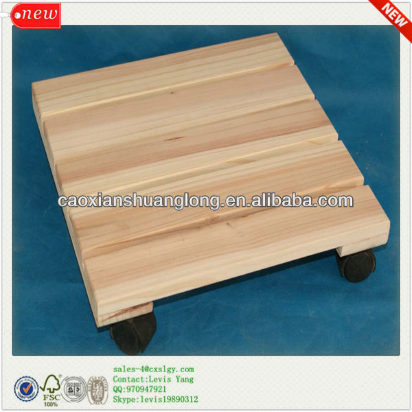 New Natural Usage Cheap Wholesale Wooden Flower Pot Stands