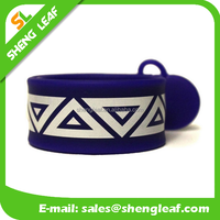 customized usb flash drive Blue Wrist Snap Band USB Flash Drive