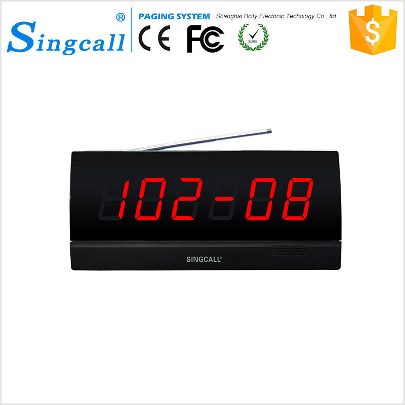 Singcall Restaurant Bar Waiter Paging System Calling Device 2500
