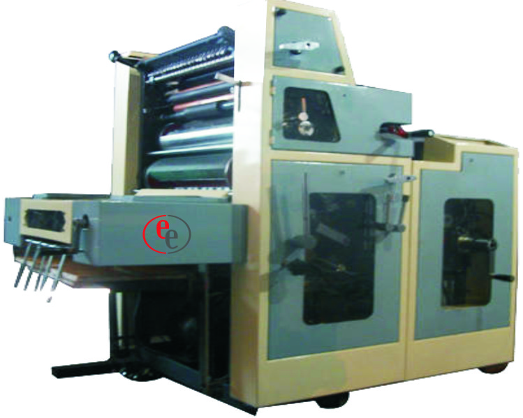 Poly bag Single Color Offset Printing Press Exporter in India