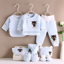 Newborn winter cotton wear 8 pcs baby clothes gift set