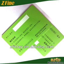 High quality printed pvc card Plastic inkjet printable pvc id cards signature panel for pvc cards