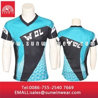 custom t-shirt sublimation t-shirts put on your own logo with sublimation printing