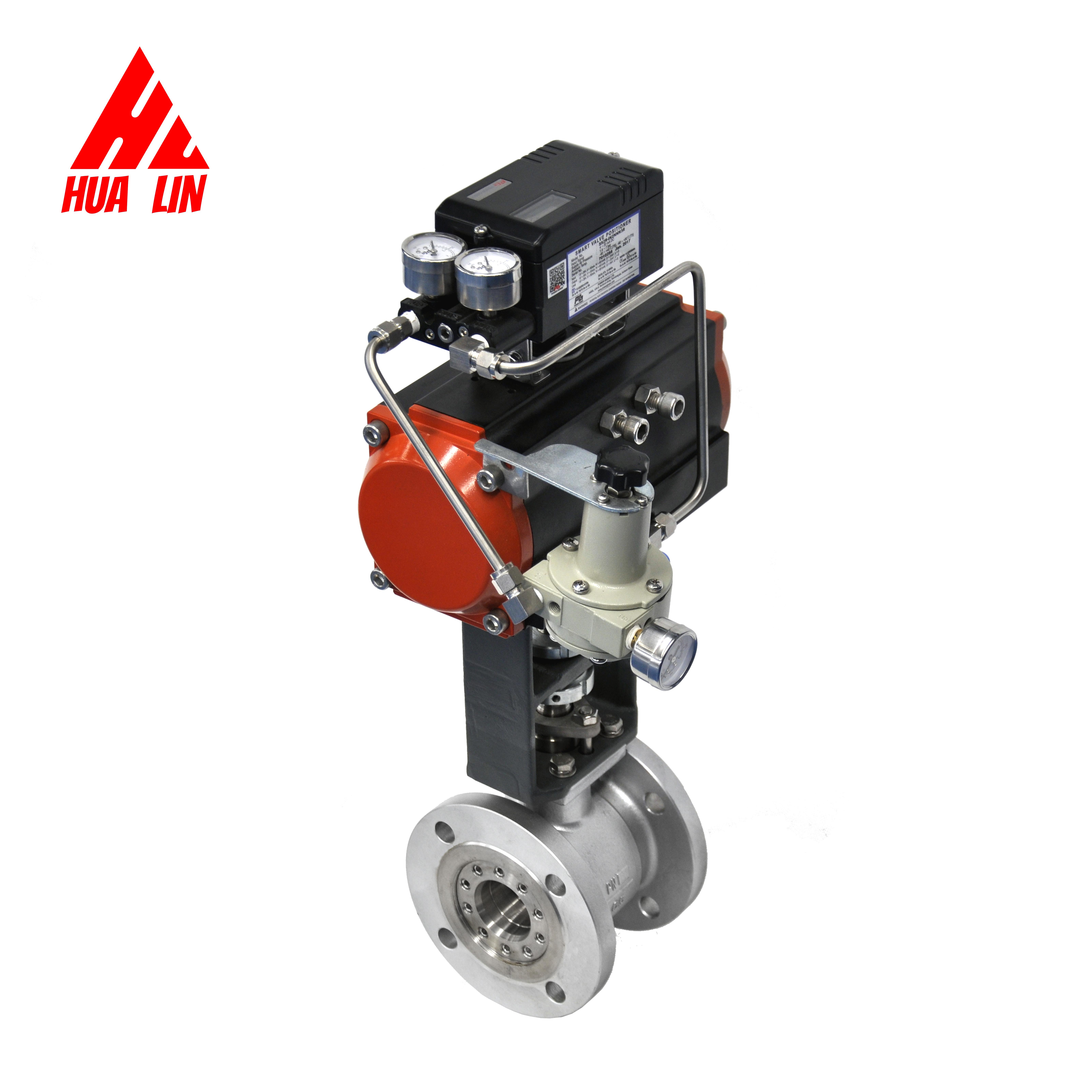 2017 hot new products propane temperature control valve pressure relief pneumatic butterfly with good price