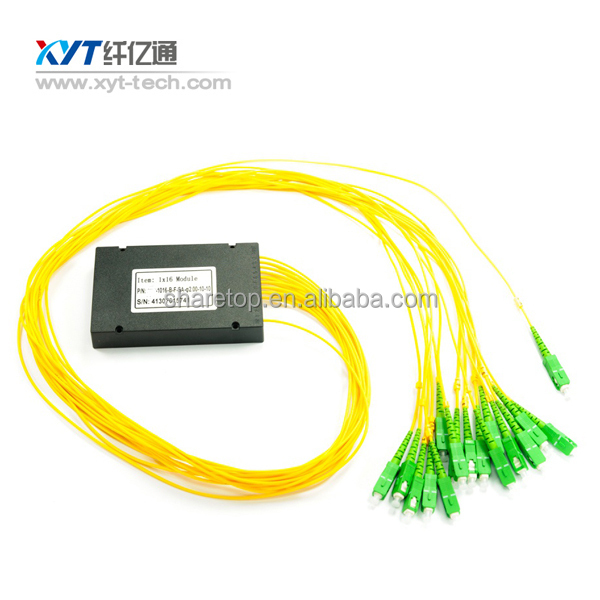 16 Channel 100GHz fiber Optic equipment DWDM (MUx/Demux, FTTH, RoHS)