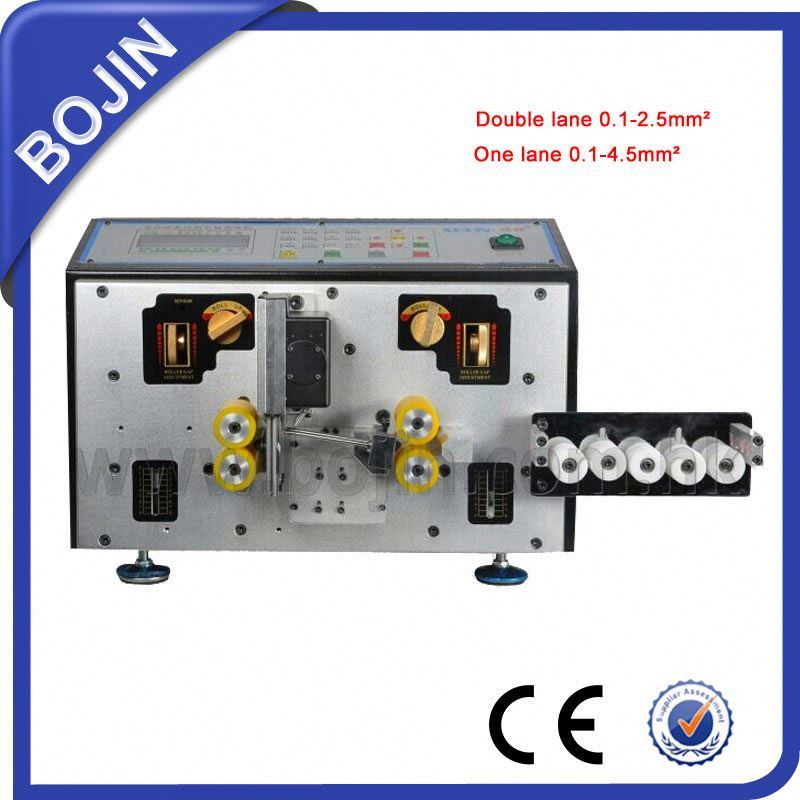 Low price scrap copper wire stripping machine