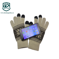 Back TPR Protector Full Finger Warm Motorcycle Glove with Touch Screen Glove