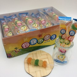 Assorted Fruits Halal sweets soft jelly candy lollipop