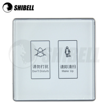 SHIBELL Hot Sale Smart home intelligent 4 gang soft touch light switch electrical control network leather switch