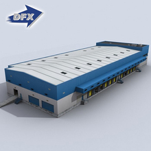 DFX Factory Direct Prefab Insulated Steel Structure Warehouse