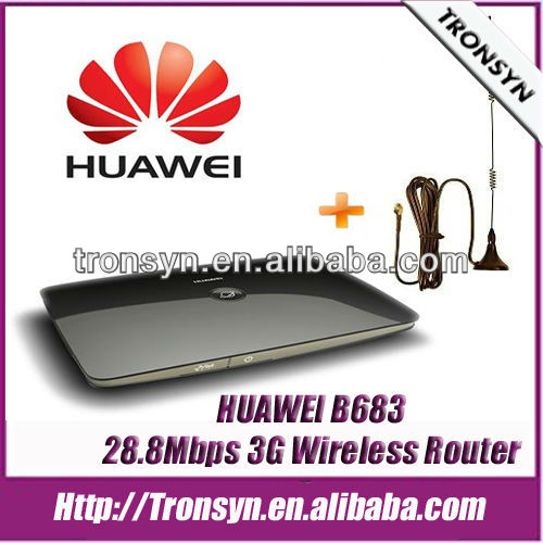 New Original HSPA+ 28.8M HUAWE B683 huawei 3g hotspot wifi router 3G Wireless Gateway Support 32 Users