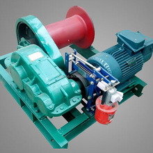 Yuantai cable pulling drill powered winch and mining winch 5 ton