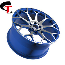 ST superior quality AI alloy forged car wheel