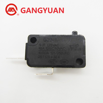 Good Quality SPDT Micro Switch 3 Terminal 10A 125V