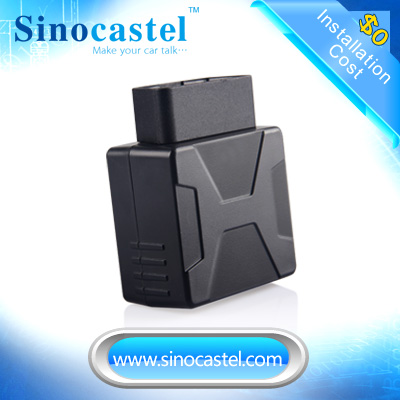 Plug & Play IDD-213GL GSM OBD Smallest GPS Locator Provide Vehicle Tracking Systerm Support