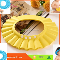 Bathroom Products silicone Baby shower cap and hats,shower ear caps,shampoo eye shield