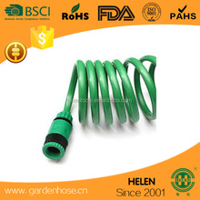 15m 50ft Recoil Garden Hose With 5 Pattern Watering Spray Gun Nozzle