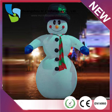 2015 New Product Christmas Inflatable Snowman Frozen Lovely Olaf Inflatable Snowman For Christmas