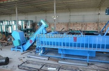 Washing, dewatering and drying Film blowing machine line Plastic Recycling Machines