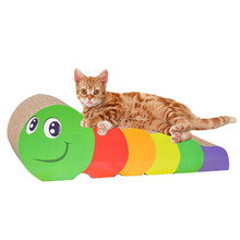 Cute colorful Japanese and Korean style cat scratching post cat scratcher
