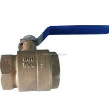 Small Size Brass Lockable Ball Valve with Female Threaded