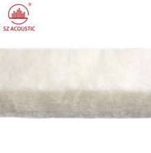 SZ ACOUSTIC Decoration White wool cotton piano room sound absorbing panel