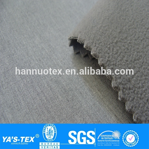 new design bamboo waterproof viscose fabric polar fleece bonded fabric bamboo fabric