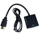 SIPU 1080p HDMI to VGA Audio Adapter Cable Converter for HDTV PC Monitor Laptop