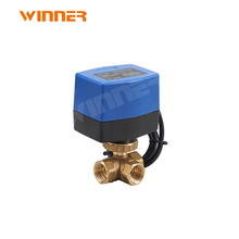 Faucet filter motorized diverter valve electric water floating check ball valve