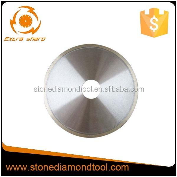 Ceramic Porcelain Tile Cutting Diamond Saw Blades with Continous Rim