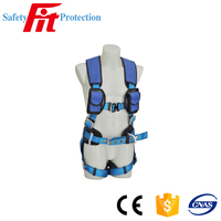 double shoulder senior safety belt harness for climbing