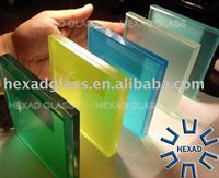 Milk white Laminated Glass