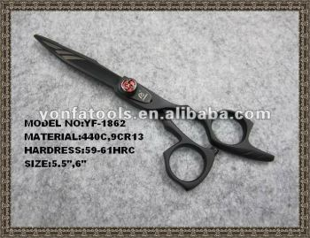 YF1862 black hair scissor