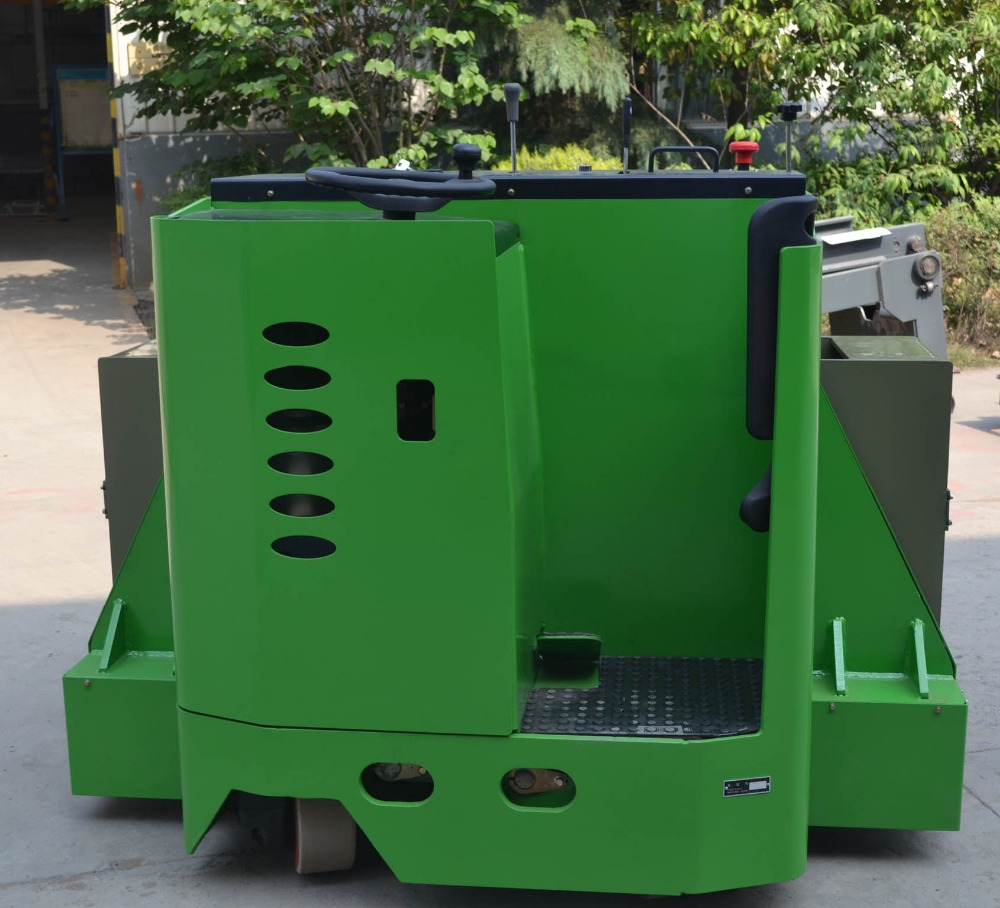 Heavy duty 8000kg capacity electric truck used for cable