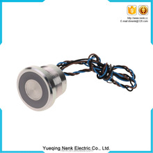 Quality Guaranteed IP67 12mm Aluminum Momentary Normal Open Piezo Switch