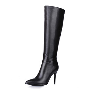 ladies leather boots 2018 fashion overknee boots