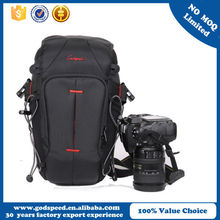 China factory black dslr camera bag /waterproof camera bag