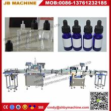 Hot sale 50ml eye drop/electronic cigarette liquid/essential oil capping and filling machine