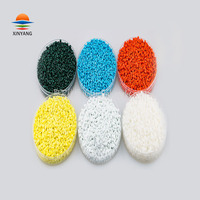 High concentration bright color PE/PP/ABS resin multicolor master batches for film blowing