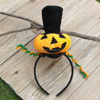 Halloween Party Orange Pumpkin latest headband designs