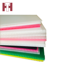 Skillful manufacture heat resistant pp corrugated plastic sheet