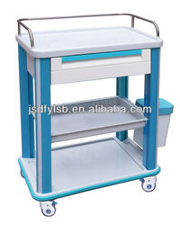 CT-63072D3 Hospital clinical emergency trolley equipment