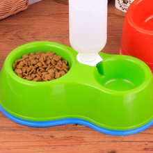 Cheap plastic pet feeder dog bowl no choking
